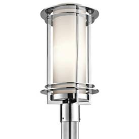 Kichler Lighting 49349PSS316 Pacific Edge - One Light Outdoor Post Lantern