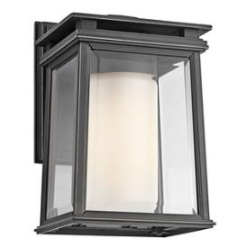 Kichler Lighting 49400RZ Lindstrom - One Light Outdoor Wall Mount