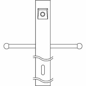 Kichler Lighting 49904 Accessory - Post with External Photoeye ladder