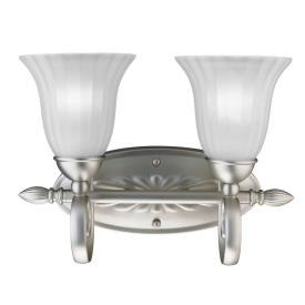 Kichler Lighting 5927NI Willowmore - Two Light Bath Fixture