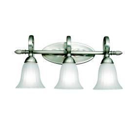 Kichler Lighting 5928NI Willowmore - Three Light Bath Fixture