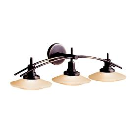 Kichler Lighting 6463OZ Three Light Bath Bar