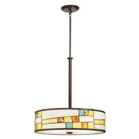 Kichler Lighting 65344 Mihaela - Four Light Inverted Pendant