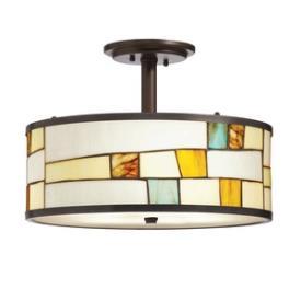 Kichler Lighting 65345 Mihaela - Three Light Semi-Flush Mount