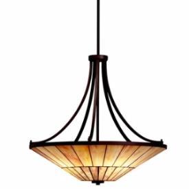 Kichler Lighting 65355 Morton - Four Light Inverted Pendant