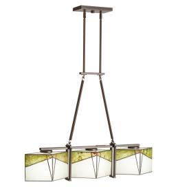 Kichler Lighting 65378 Bayberry - Three Light Linear Chandelier