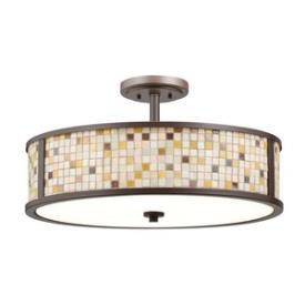 Kichler Lighting 65381 Blythe - Five Light Convertible Semi-Flush Mount