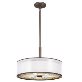 Kichler Lighting 65387 Louisa - Four Light Convertible Semi-Flush Mount
