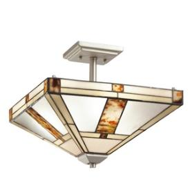 Kichler Lighting 69164 Bryce - Three Light Semi-Flush Mount