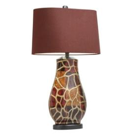 Kichler Lighting 70876CA Amondi - One Light Portable Table Lamp