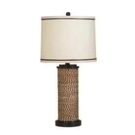Kichler Lighting 70887CA Spool - One Light Portable Table Lamp
