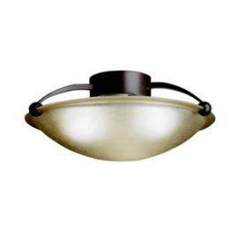 Kichler Lighting 8406TZ Three Light Flush Mount