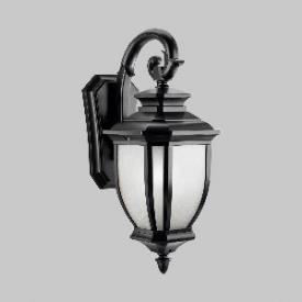 Kichler Lighting 9040BK Salisbury - One Light Outdoor Wall Mount