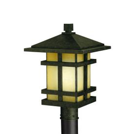 Kichler Lighting 9529AGZ Cross Creek - One Light Post Mount