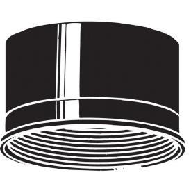 "Kichler Lighting 9544BK Accessory - 4.5"" Baffle"