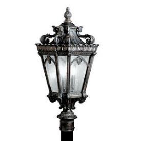 Kichler Lighting 9558LD Tournai - Three Light Post Mount