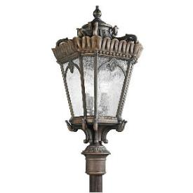 Kichler Lighting 9565LD Tournai - Four Light Outdoor Post Mount