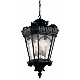 Kichler Lighting 9568BKT Tournai - Eight Light Outdoor Hanging Pendant
