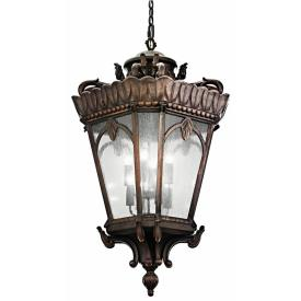 Kichler Lighting 9568LD Tournai - Eight Light Outdoor Ceiling Fixture