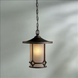 Kichler Lighting 9827AGZ Chicago - One Light Pendant