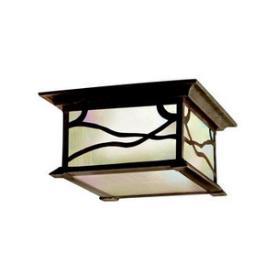 Kichler Lighting 9838DCO Morris - Two Light Outdoor Flush Mount
