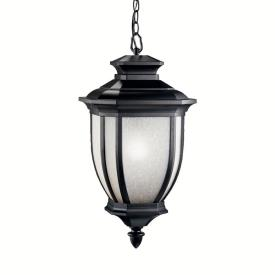 Kichler Lighting 9843BK Salisbury - One Light Outdoor Pendant