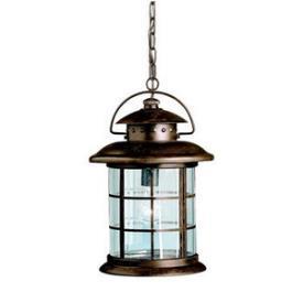 Kichler Lighting 9870RST One Light Outdoor Pendant