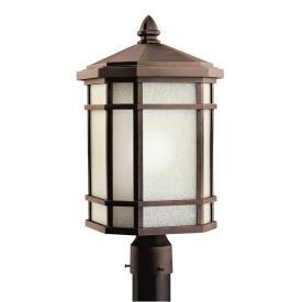 Kichler Lighting 9902PR Cameron - One Light Outdoor Post Mount
