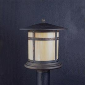 Kichler Lighting 9945CV Tularosa - One Light Post Mount