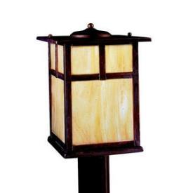 Kichler Lighting 9953CV Alameda - One Light Post Mount
