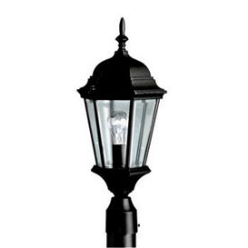 Kichler Lighting 9956BK Madison - One Light Outdoor Post Mount
