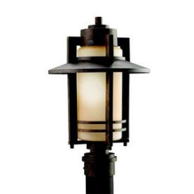 Kichler Lighting 9959AGZ Creston - One Light Outdoor Post Mount
