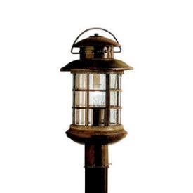 Kichler Lighting 9962RST One Light Post Mount