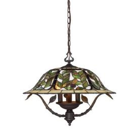 Landmark Lighting 08016-TBH Latham 3 light Chandelier
