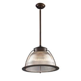 Landmark Lighting 60014-1 Halophane 1 - Light Pendant