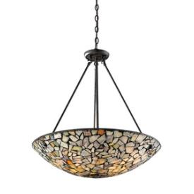 Landmark Lighting 60022-4 Trego - Four Light Pendant