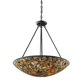 Landmark Lighting 60035-4 Trego - Four Light Pendant