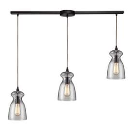 Landmark Lighting 60043-3L Menlow Park - Three Light Pendant