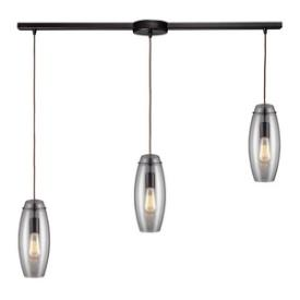 Landmark Lighting 60044-3L Menlow Park - Three Light Pendant