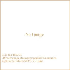 Landmark Lighting 60045-3 Menlow Park - Three Light Pendant