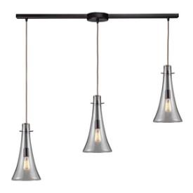Landmark Lighting 60045-3L Menlow Park - Three Light Pendant