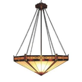 Landmark Lighting 622-AB Filigree Collection Pendant