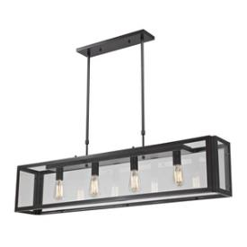 Landmark Lighting 63023-4 Parameters - Four Light Pendant