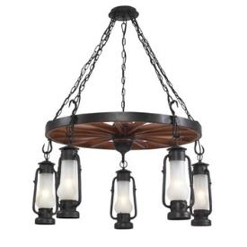 Landmark Lighting 65007-5 Chapman 5 - Light Chandelier