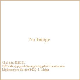 Landmark Lighting 65020-1 Iron Heights - One Light Wall Sconce