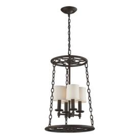 Landmark Lighting 65116-4 Ironton - Four Light Mini Chandelier