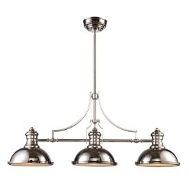 Landmark Lighting 66115-3 Chadwick - Three Light Island