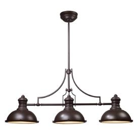 Landmark Lighting 66135-3 Chadwick - Three Light Island