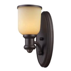 Landmark Lighting 66170-1 Brooksdale - One Light Wall Sconce