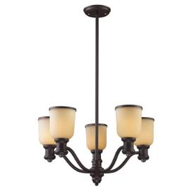 Landmark Lighting 66173-5 Brooksdale - Five Light Chandelier